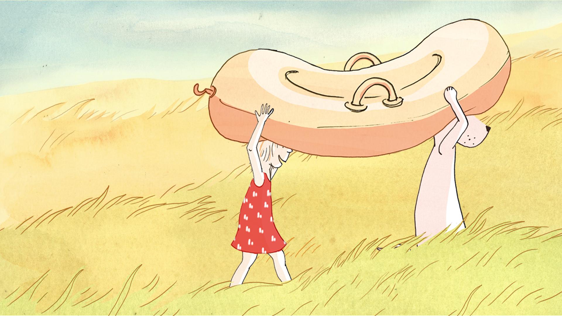 Juliette et Jules, une série d'animation de 5 minutes x 52 épisodes